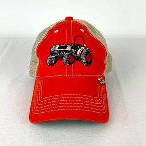✨3/$25✨Bobcat Orange Tractor Trucker Hat
